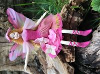 Hortensia- flexible, ethically made fairy figurine