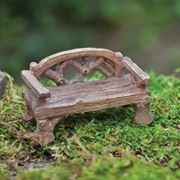 Fiddlehead Rustic Bench