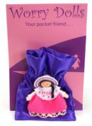 Fuchsia Worry Doll