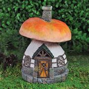 Fiddlehad Fairy Garden Mushroom Cottage