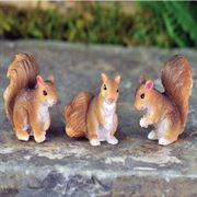 Fairy Garden Figurines- Squirrels