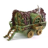 fairy gypsy caravan fairy home