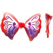 Fairygoodies Fairy Wings- Red Pixie Wings