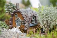Fairy Gardens Log House- Fiddlehead