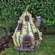Fiddlehead Fairy Gardens- Striped Gourd House