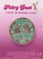 fairy dust wishing coin- tooth fairy (green)