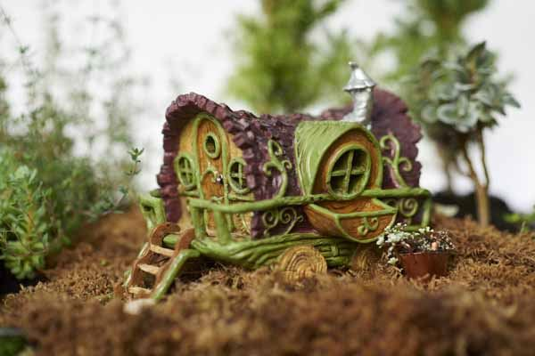 Fiddlehead Gypsy Caravan Fairy Home
