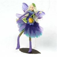 Anemone- ethically made fairy figurines