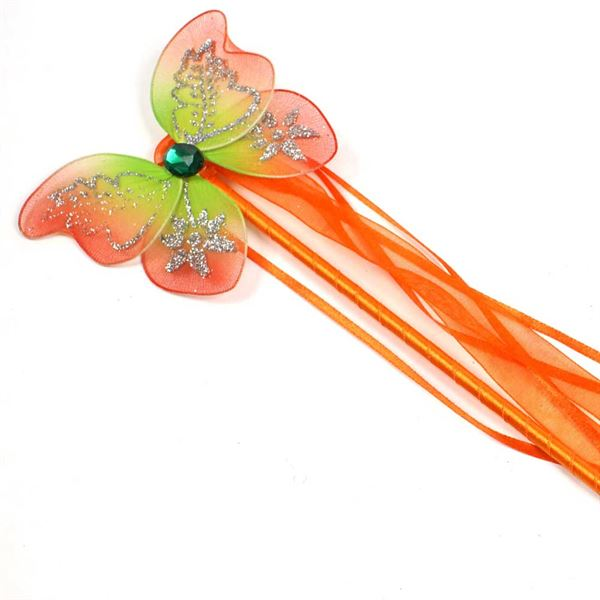 Fairy Wand- orange and green, like Tinkerbell