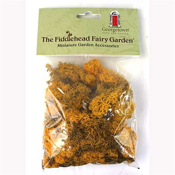 Fairy Garden Moss- Yellow (Fiddlehead)