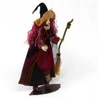 Myrtle by Tassie Design- flexible witch figurine