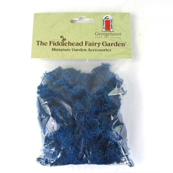 Fairy Garden Moss- Blue (Fiddlehead)