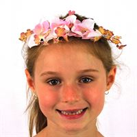 floral head garlands wholesale