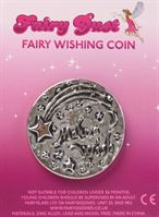 "Fairy Wishing Coin ""Make A Wish"" black"