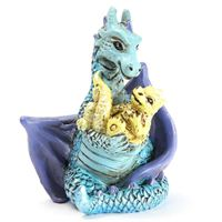 Mum & Baby Dragon by Fiddlehead Fairy Gardens