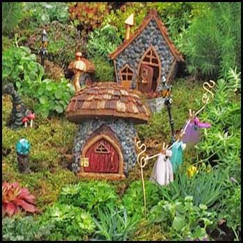 Fiddlehead Fairy Gardens- fairy houses with opening doors