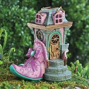 Fiddlehead Miniature Gardens- Pink Slipper Chateau