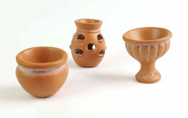 Fiddlehead Terracotta Pots