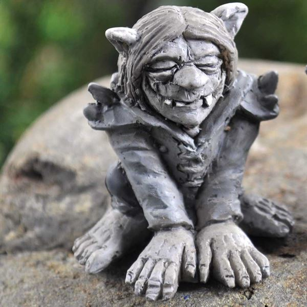 Fairy Garden Figurine- Snark The Troll
