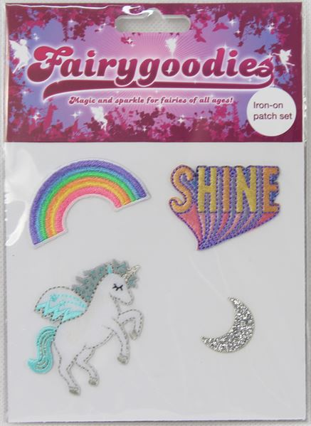 Wholesale Iron-on patches by Fairygoodies