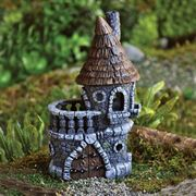 Miniature Fairy House - Fiddlehead Castle